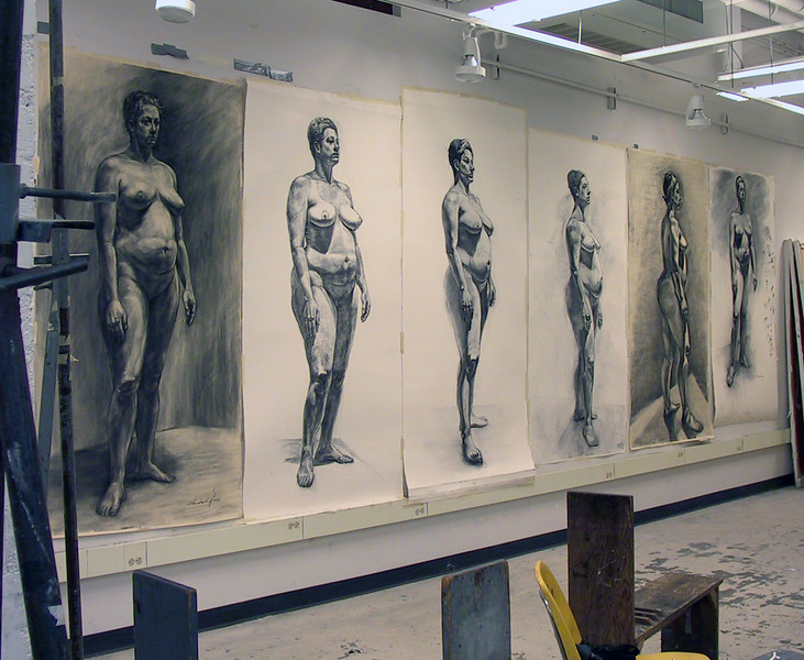 Life size drawing class offered each spring.