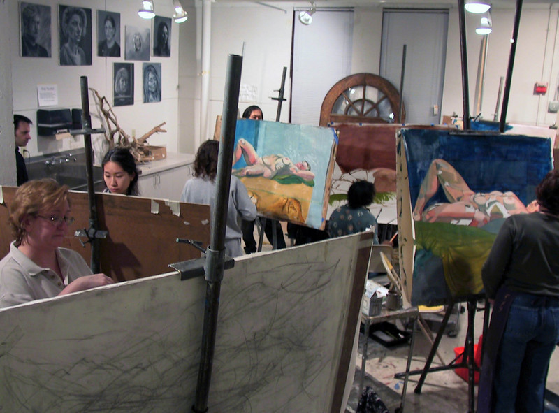 Painting class offered each semester