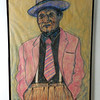 13 Red Jacket: a study of Roosevelt Thomas Williams - pastel on paper, 36x24. NFS