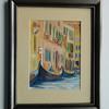 4 Venice Gondolas - watercolor, 7x5. $75