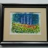 9 Flower Garden II - watercolor, 5x7. $50