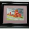 17 Prairie Castles, Saskatchewan - watercolor, 7x10. $100