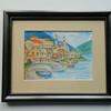 2 Lake Maggiore, Italy I - watercolor, 5x7. $75