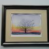 6 Winter Tree - watercolor, 5x7. $50
