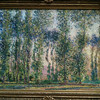 Poplars at Giverny by Monet (at the MFA)