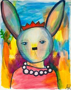 Elegant bunny ennui