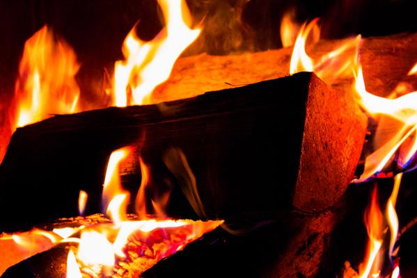 Loving flames
