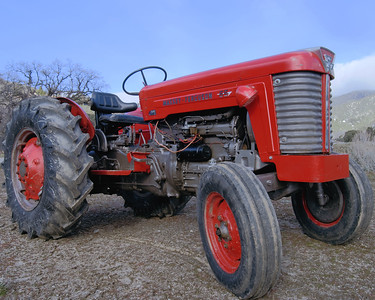 Massey Ferguson Big Red Tractor