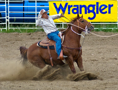 A real Wrangler rodeo