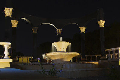 Fountain By Night