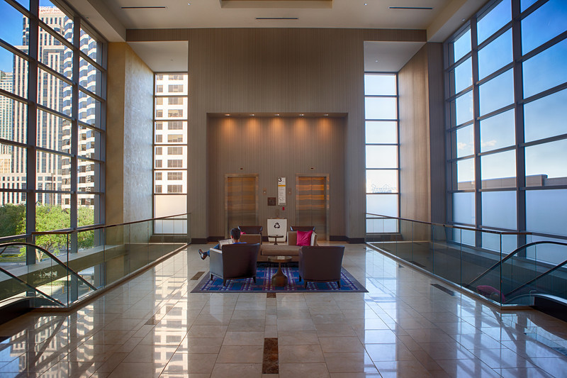 Regency Hyatt Hotel, New Orleans