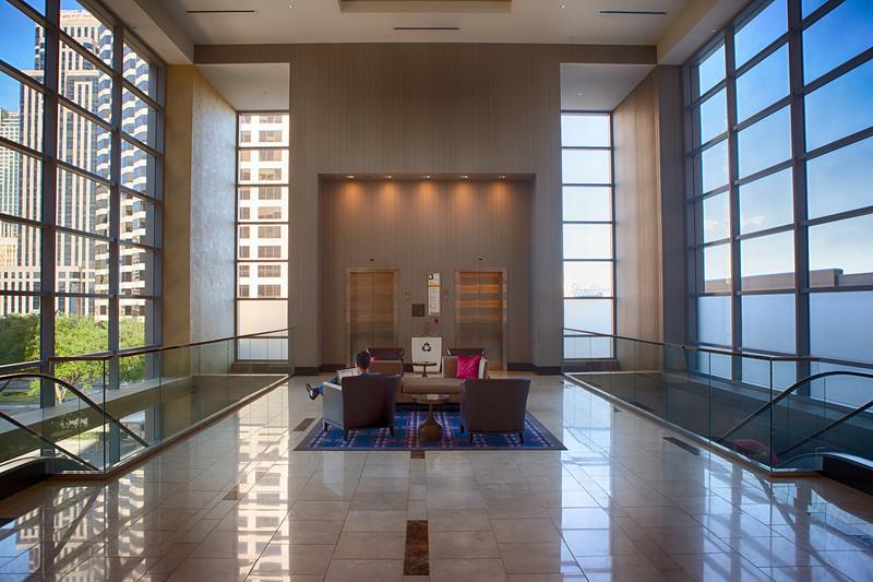 Regency Hyatt Hotel, New Orleans