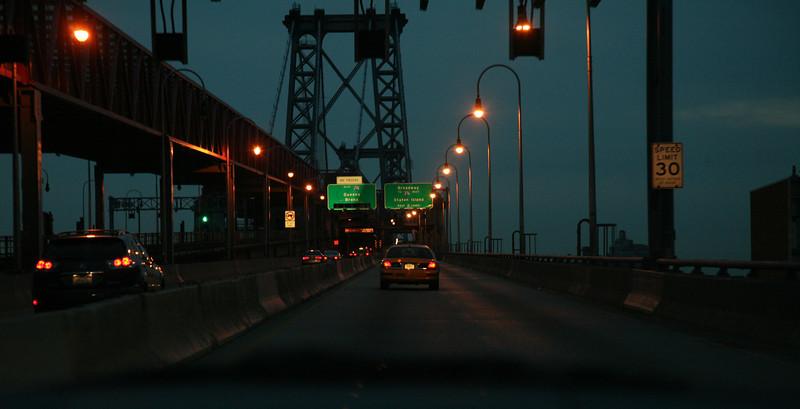 NYC around dawn