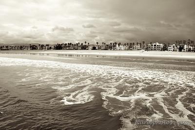 Santa Monica (Sepia)