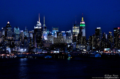 """Manhattan at Night"""