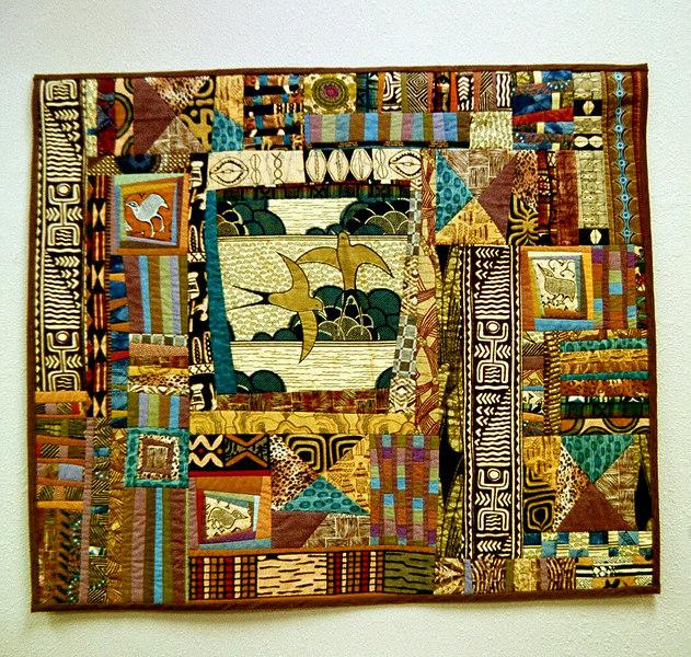 """Pax Afrika""<br /> 2001 - 41""x36"""
