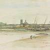 View of Dieppe Harbor, 1873