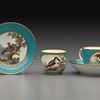 Tea Service (saucer, cup, cup and saucer)