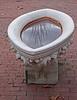 Trough, marble 02<br /> <br /> Marble garden sculpture,<br /> Toledo Botanical Garden,<br /> Toledo, Ohio.