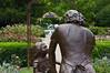 Empathy 02<br /> Bronze sculpture by Artist Emanuel Enriquez.<br /> Rose Garden, Toledo Botanical Garden.<br /> Dedicated on June 23, 2002<br /> <br /> August 12, 2012