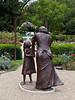 Empathy 01<br /> Bronze sculpture by Artist Emanuel Enriquez.<br /> Rose Garden, Toledo Botanical Garden.<br /> Dedicated on June 23, 2002<br /> <br /> August 12, 2012