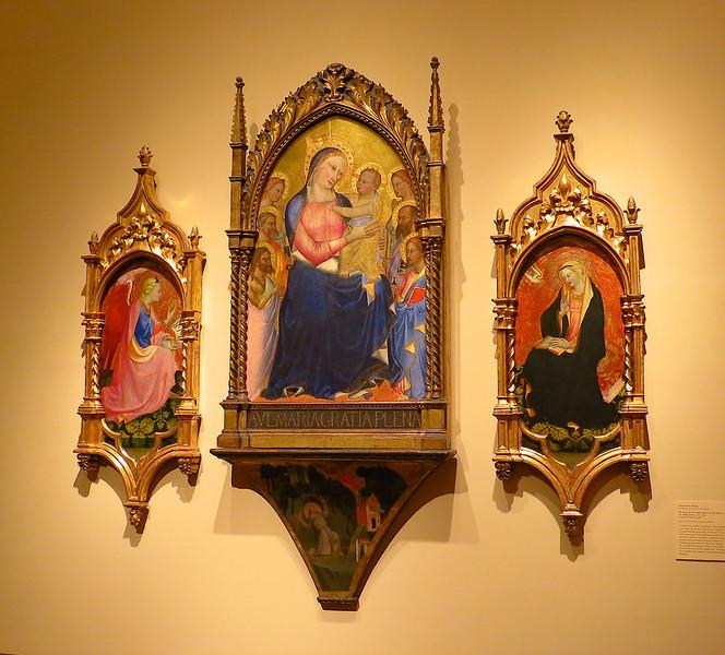 Altar piece. 14th century Italian.