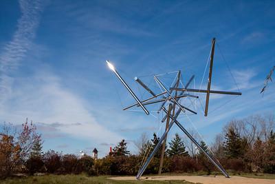 B-Tree II Steel Sculpture