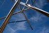 B-Tree II, Kenneth Snelson, stainless steel, 2005
