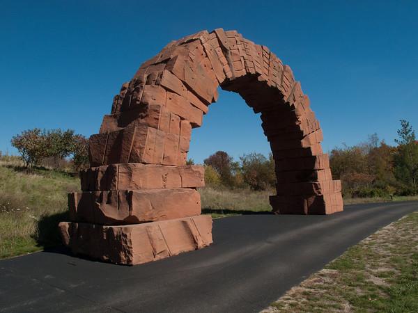 Grand Rapids Arch - Sculpture