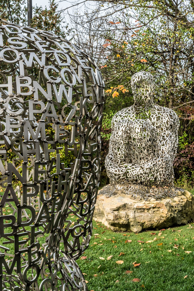 Detail, I, you, she or he... by Jaume Plensa