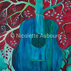 Peace Tree Guitar by Nicolette Aubourg ©