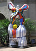 """Poet and Muse"" by Niki de Saint Phalle, outside Mingei Museum at Balboa Park, 11 Jun 2006"