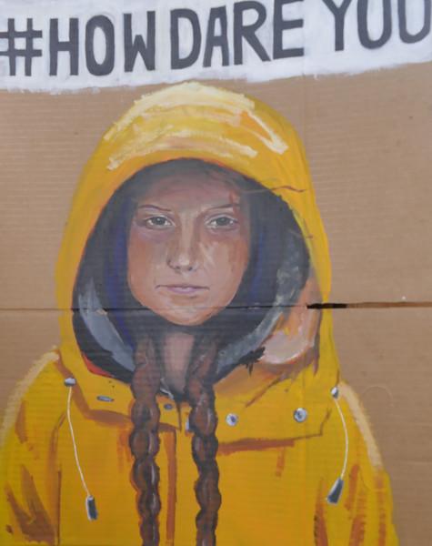 Greta Thunberg SS4C poster