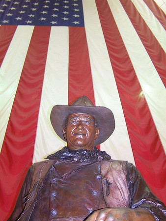 The Duke & the Flag - John Wayne Airport, Orange County, CA