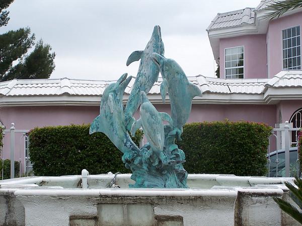 Bronze Dolphins