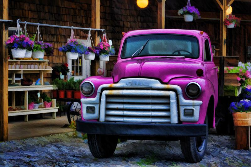 Magenta Truck