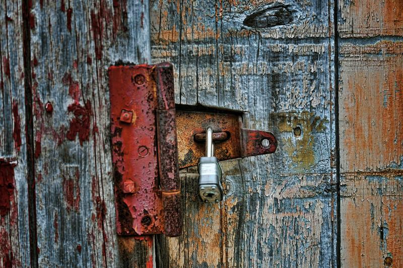 Hinge and Lock
