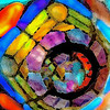 Stained Glass Lamp Shade 2