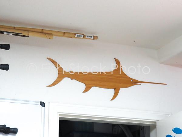 Swordfish Bamboo Art