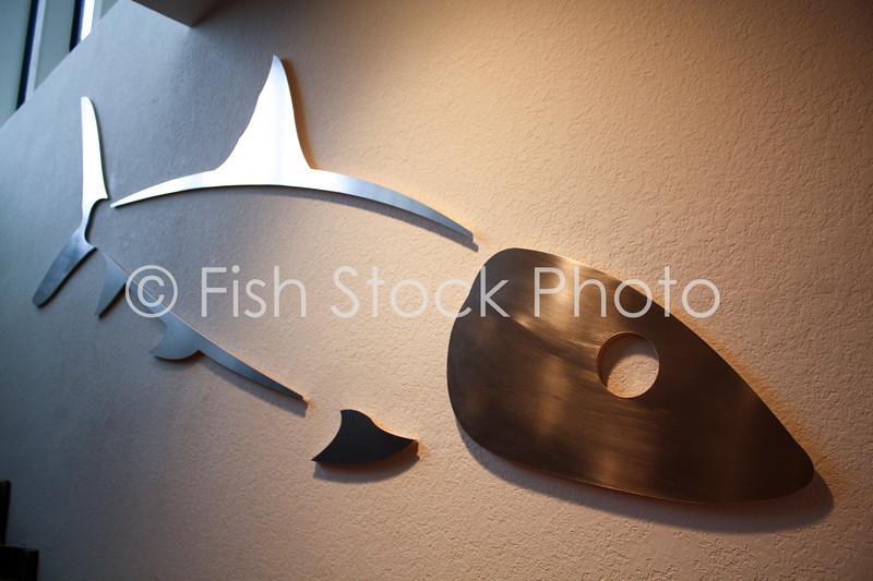 Giant Bonefish Metal Wall Art