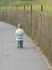 running baby