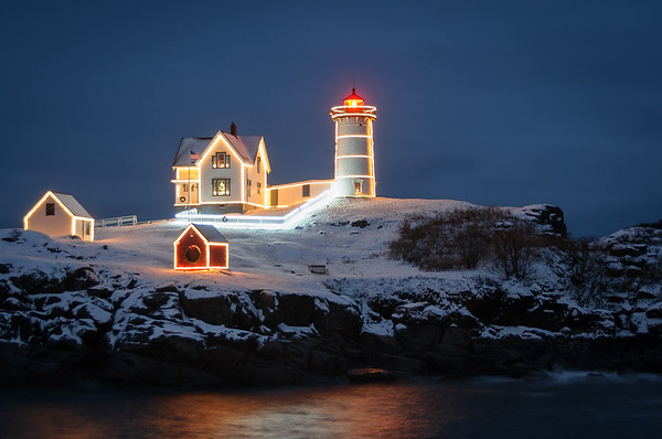 Nubble Light Christmas