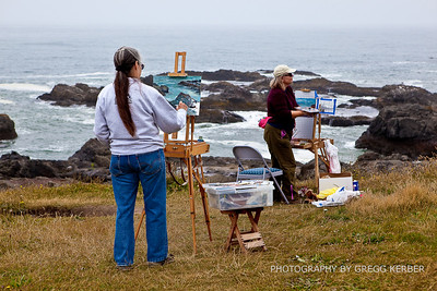 Artists along the Oregon Coast