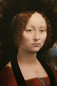 Leonardo DaVinci - portrait of Ginevra de' Benci (NGA)