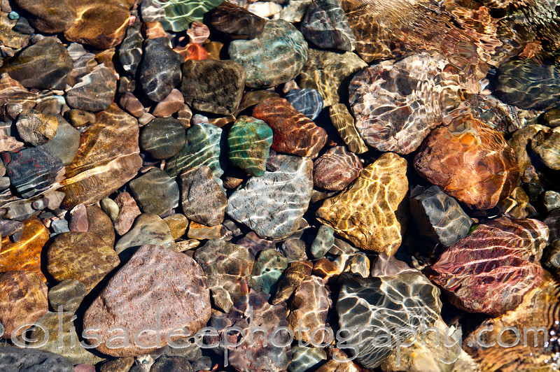 Santiam River Rocks<br /> Won Honorable Mention award at 2013 Corvallis Howland Community Art Open.