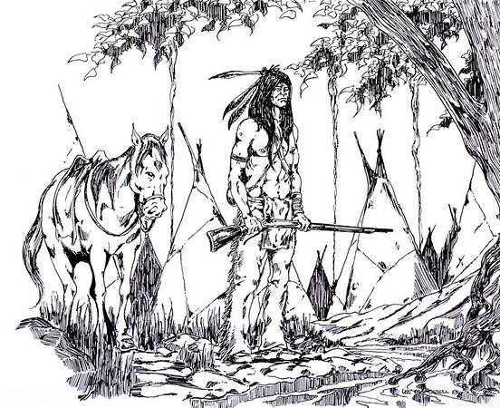 Indian<br /> Technical Pens - Illustration Board