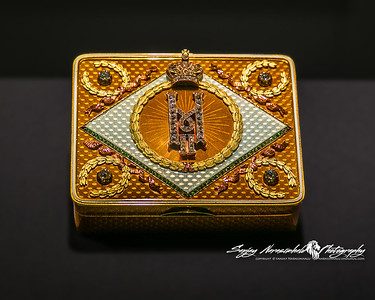Faberge Snuffbox, Houston Museum of Science, February 9, 2013