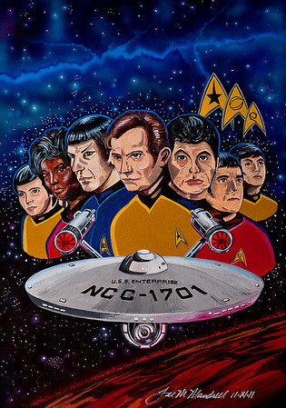 """Classic Star Trek"""