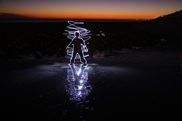 Painting with Light - Boy