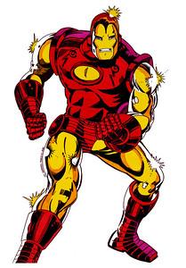 Iron Man Markers - Illustration Board